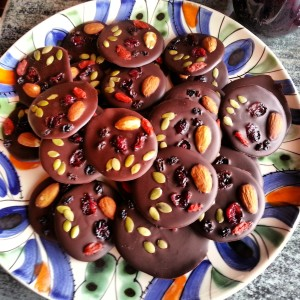 Decadent Dark Chocolate Bites
